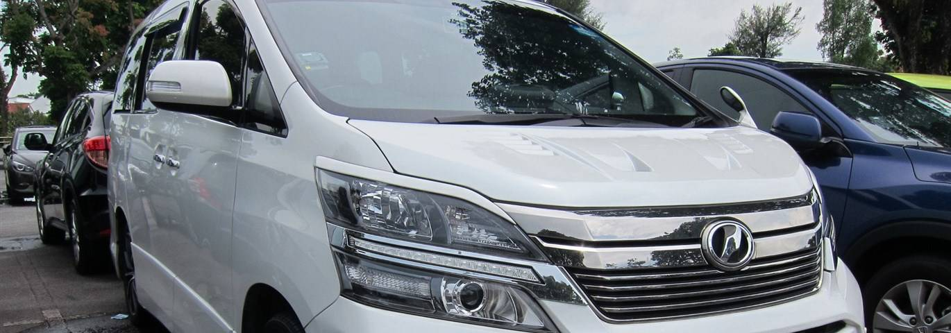 Rent a Toyota Alphard in Nairobi